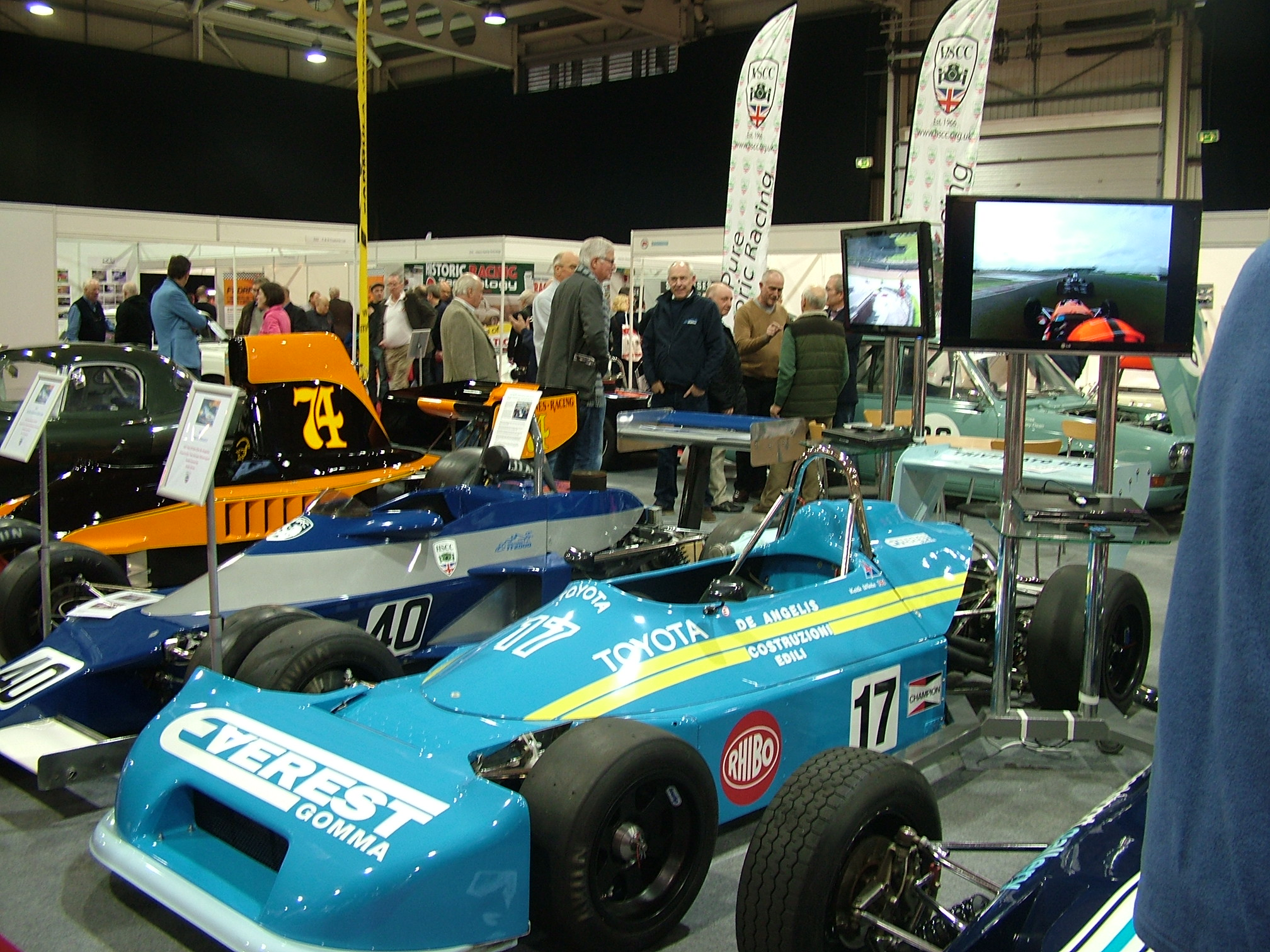 HISTORIC MOTORSPORT SHOW TO MAKE A ROARING RETURN TO NAEC STONELEIGH