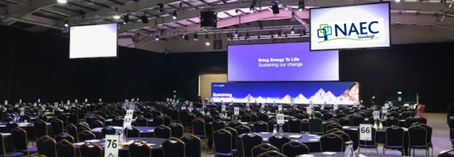 ENERGY FIRM PLUGS INTO NAEC STONELEIGH'S VENUE VERSATILITY